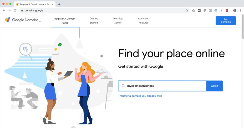 Google Domains Registra
